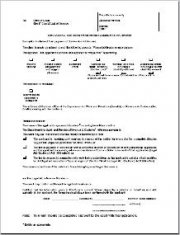 Application for exemption from payment of court fee